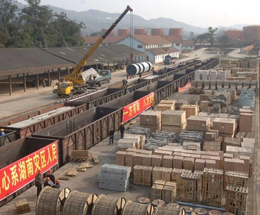 铁路物流概述:运输、仓储、装卸、搬运、包装、流通加工、配送、结算、信息化