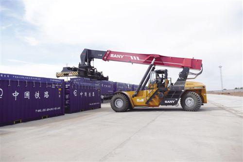 铁路物流35吨敞顶箱应用案例