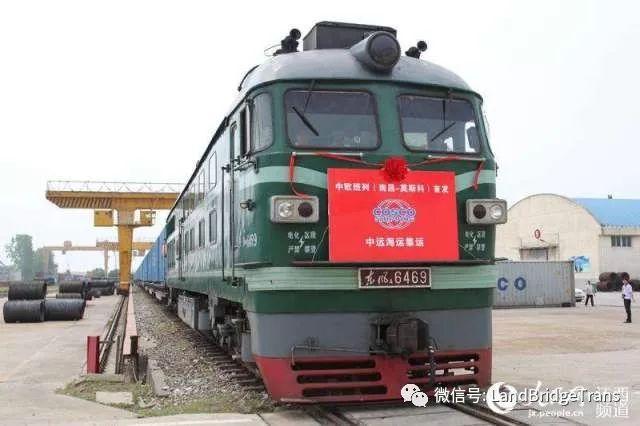 《一带一路霍尔果斯铁路货运彻底改变国际贸易 南昌-莫斯科班列常态化开行 哈萨克斯坦过境小麦运量大增》
