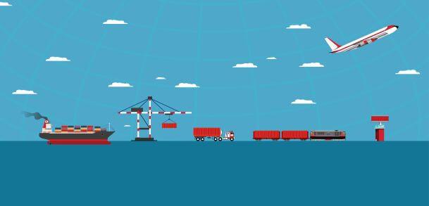 物流中不同的运输方式都会受到大数据使用增长的影响